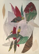 Seedling Series 24x36 mixed media on paper