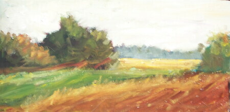 """Distant Field"" 8x12 sold"